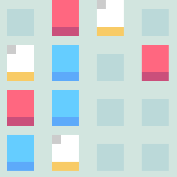 Threes: The PuzzleScript Demake